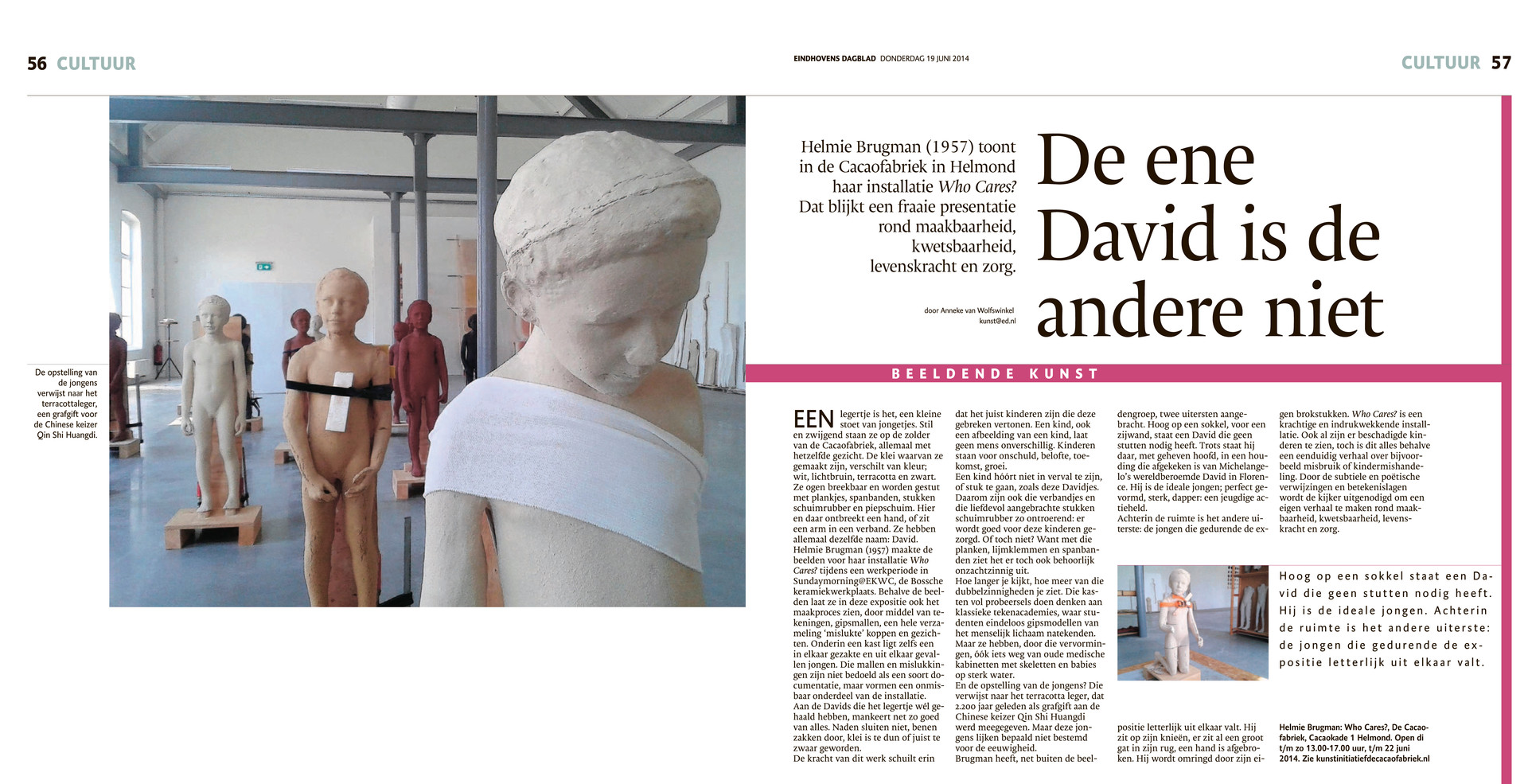 Recensie Eindhovens Dagblad 19-06-2014