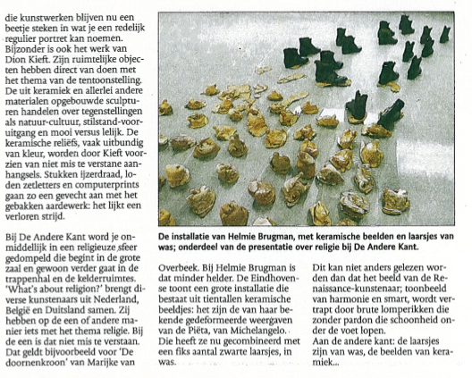 review: Eindhovens Dagblad 2009
