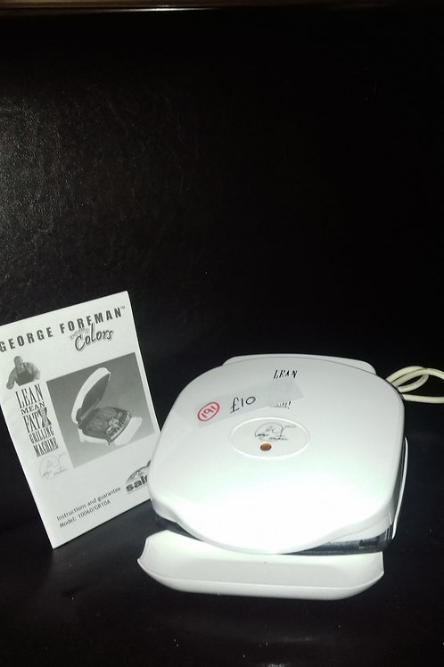 "191""George Foreman"" Grill. As new"