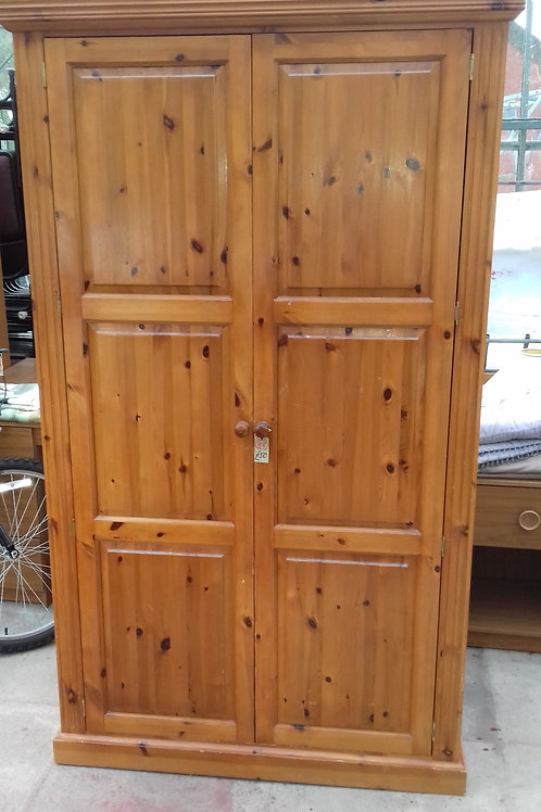 88. Pine Wardrobe. Very Sturdy and Solid