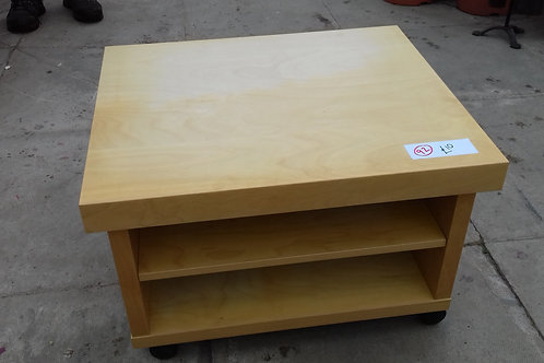 92. Coffee / Occasional Table. Wheeled