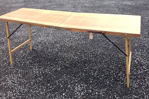 935. Wallpapering Table