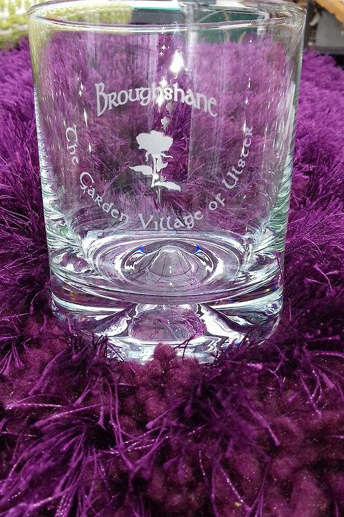 """435. """"Broughshane Garden Village of Ulster. Glass"""