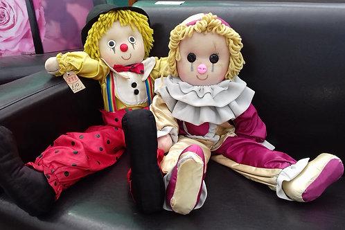 888. Pair of Large Rag Dolls