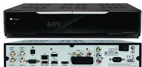 Récepteur Rebox RE8220 HD S PVR