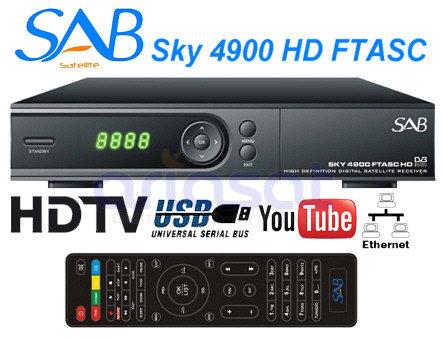 Récepteur SAB Sky FTASC 4900