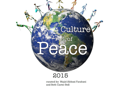 'Culture of Peace 2015' exhibition Tehran, Iran