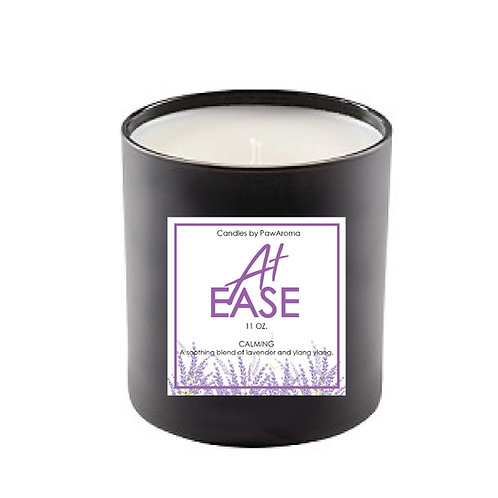 At Ease Lavender Scented 11 oz. Candle by PawAroma