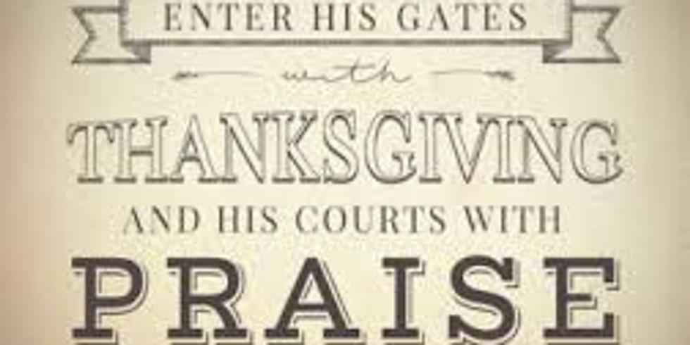 Abundant Life Fellowship Ministries Thanksgiving Day Prayer