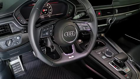 Audi interior cleaning