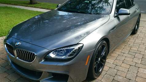 luxury car ceramic coating