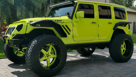 Custom Jeep Detail