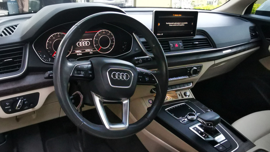 audi intior protection