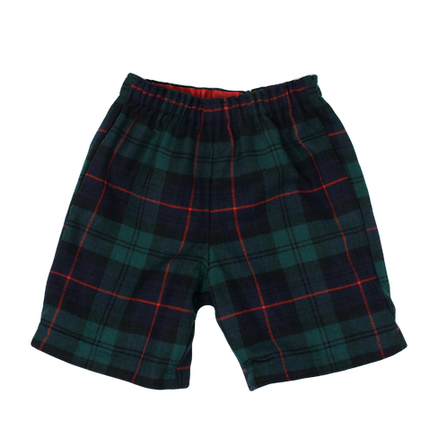 LUDO Tartan Winter Soldier Shorts
