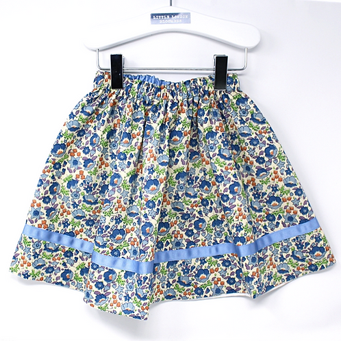 JADE (Vintage Cream/Blue) Swing Set Skirt