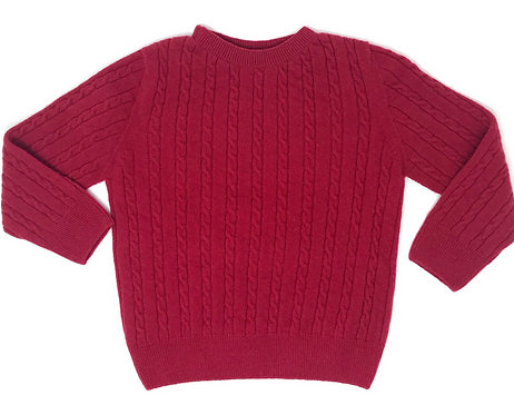 THUMPER Cable Knit (Red)