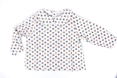 FLORA Long Sleeved Button Back Shirt