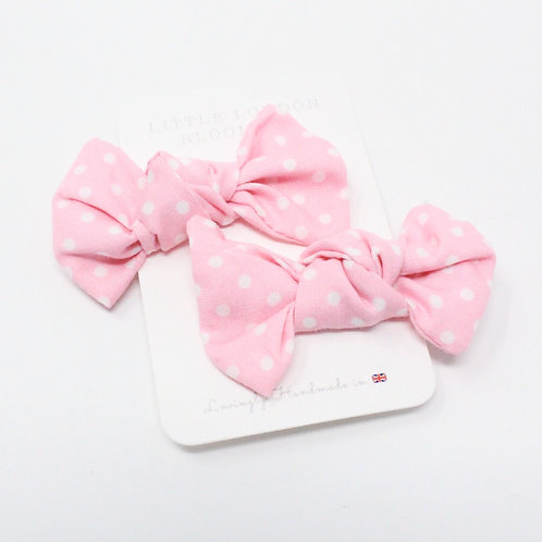 DOTTY (Pink) Bows