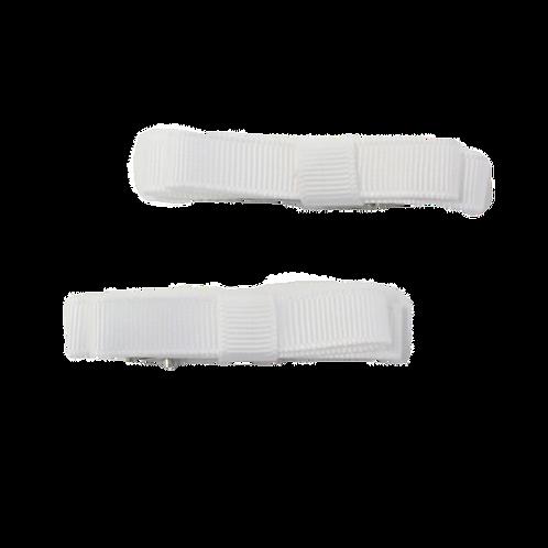 White Ribbon Bows