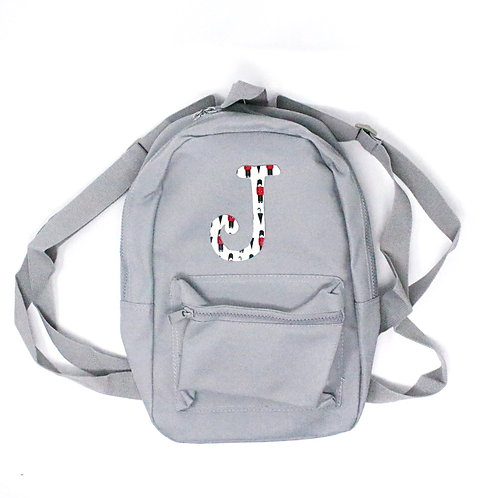 ALPHABET Backpack (Grey)