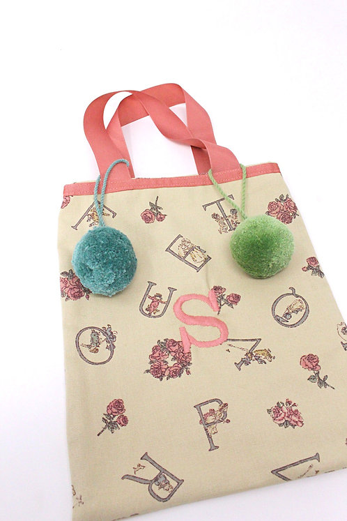 Personalised Pom Pom Bag