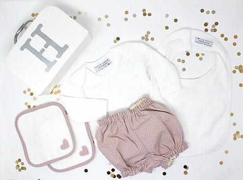 Dusty Pink Dot - Newborn Gift Box