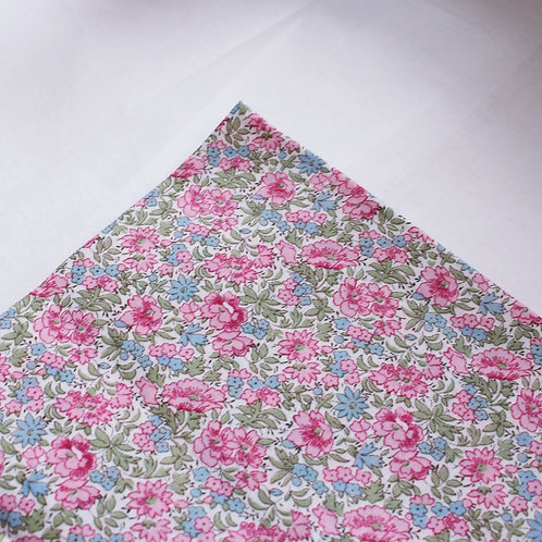 Liberty Peony Personalised Baby Coverlet
