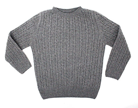 THUMPER Cable Knit (Grey)