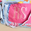 Thumbnail: Oversized Initial Liberty Cotton/Canvas Beach Bag