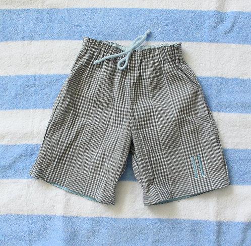 Personalised Seersucker Lightweight (Swim) Shorts