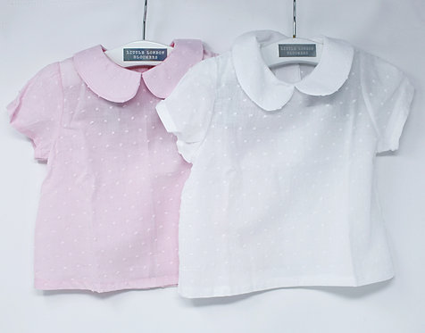 SWISS DOT (Pink / White)