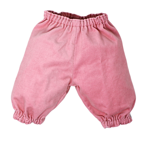 BUBBLE PANTS PINK (Cord)