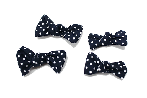 DOTTY (Navy) Bows