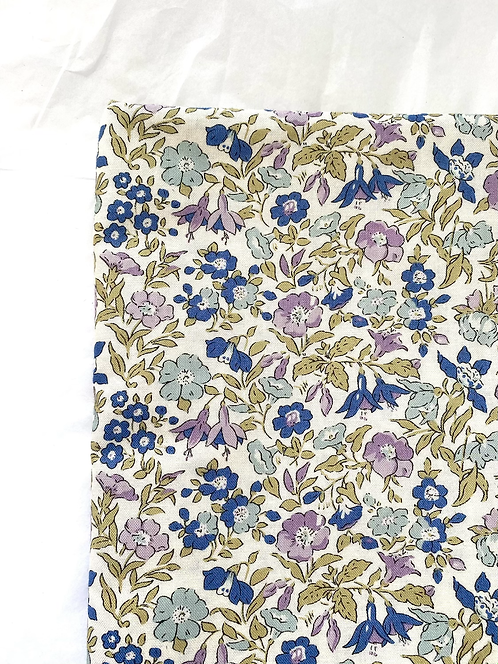 Liberty Forget-Me-Not Baby Coverlet