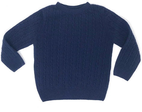 THUMPER Cable Knit (Navy)