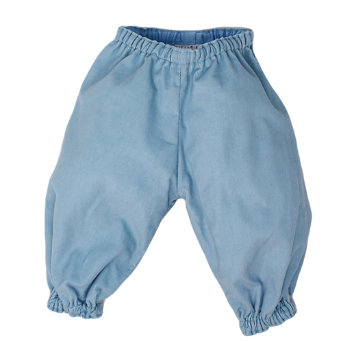 BUBBLE PANTS BLUE (Cord)