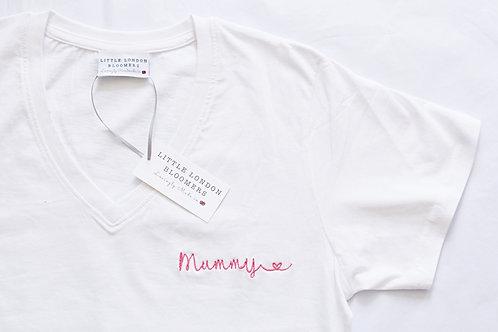 Mummy V Neck T-Shirt
