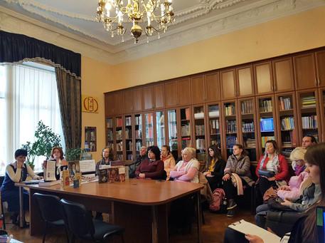 Літературний вечір до 250-річчя від дня народження Івана Котляревського