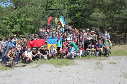 Спортивно-патріотичний вишкіл-таборування в масивіГурби-Антонівці до 75-річчя Гурбенської битви