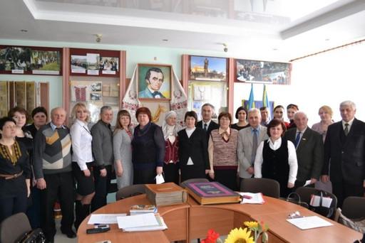 """Спільне засідання міської та обласної """"Просвіти"""""""