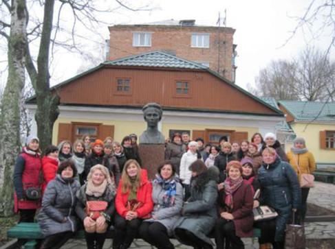 Гостини в Новоград-Волинському Літературно-меморіальному музеї Лесі Українки