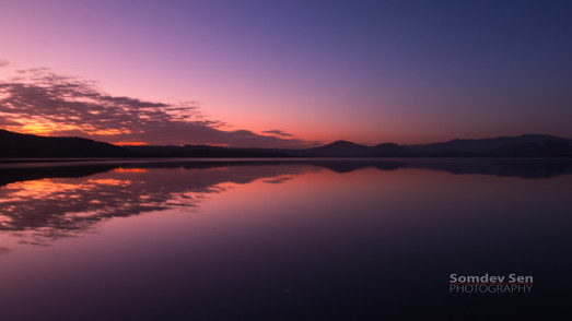 Sunrise at Lake Elementiata