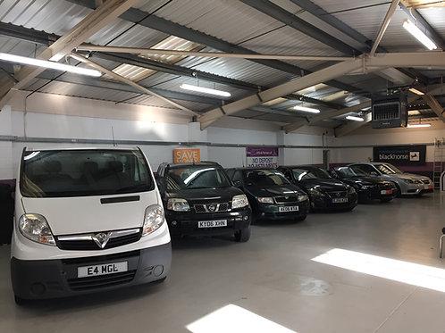 Assets of a Car Retail & Mechanical Repair Centre