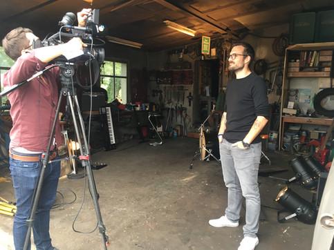 TV interview Tele Südostschweiz