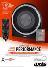 axis australia - axis car audio - XT1408A Subwoofer of the year - Loaded Enclosure