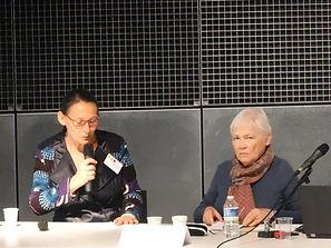 Christine Leduc-Gueye et Marie-Claude léonelli
