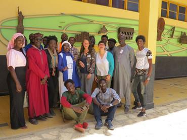 Dakar, Cours Sainte-Marie de Hann, stage conservation du patrimoine avril 2018