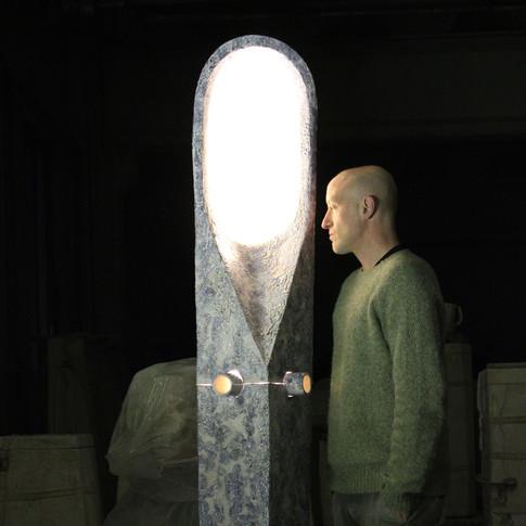 FONS scultura luminosa