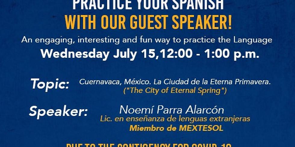 Let's Talk In Spanish