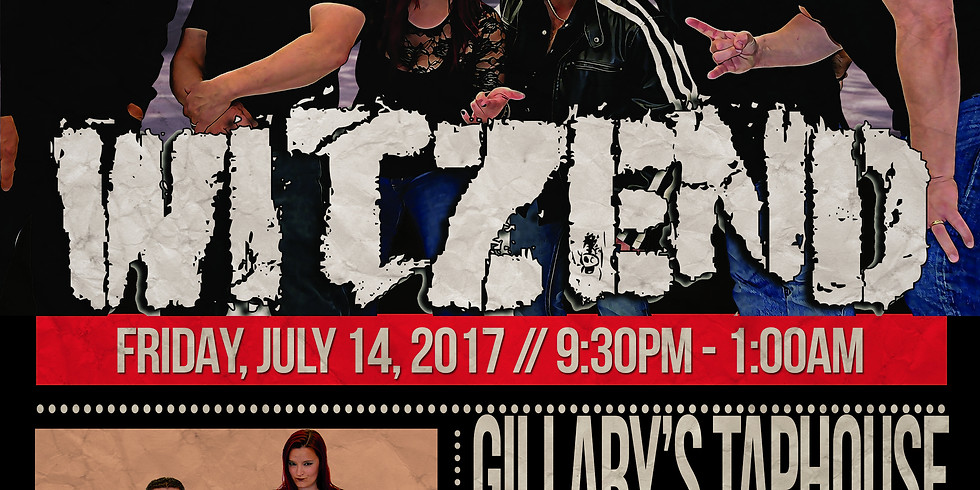 Gillary's Taphouse July 14th